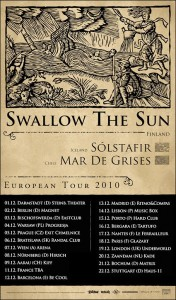Swallow The Sun, Solstafir, Mar de Grises
